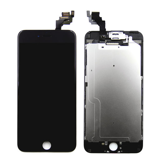 iPhone 6 Plus Display with Front Camera, Black – OEM