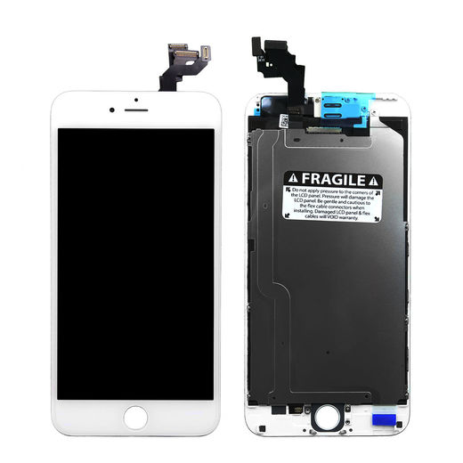 iPhone 6 Plus Display with Front Camera, White – OEM
