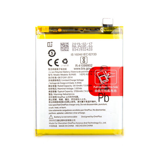 OnePlus 6T Battery, 3700mAh - OEM