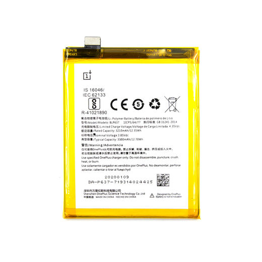 OnePlus 5 / 5T Battery - 3300mAh