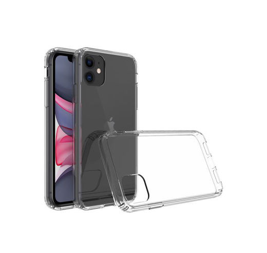 Screenor Samsung Galaxy A42 5G Transparent Bumper Case