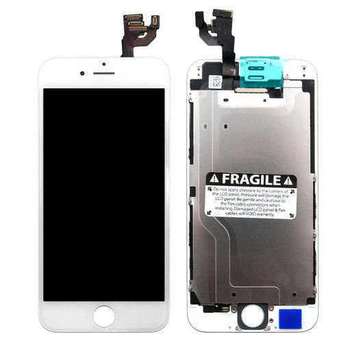 iPhone 6 Display with Front Camera, White – OEM