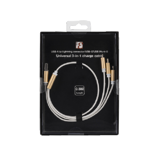 EPZI 3-in-1 charging cable