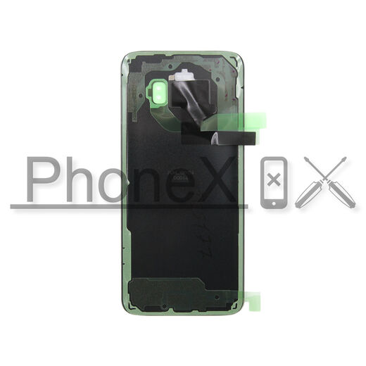 Samsung Galaxy S8 battery cover, musta – OEM